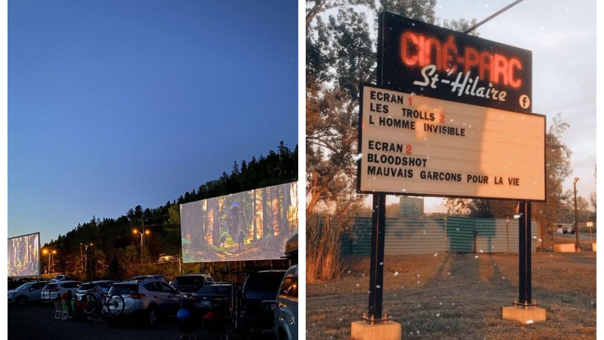 4 Drive-In Theatres In Quebec To Visit This Summer