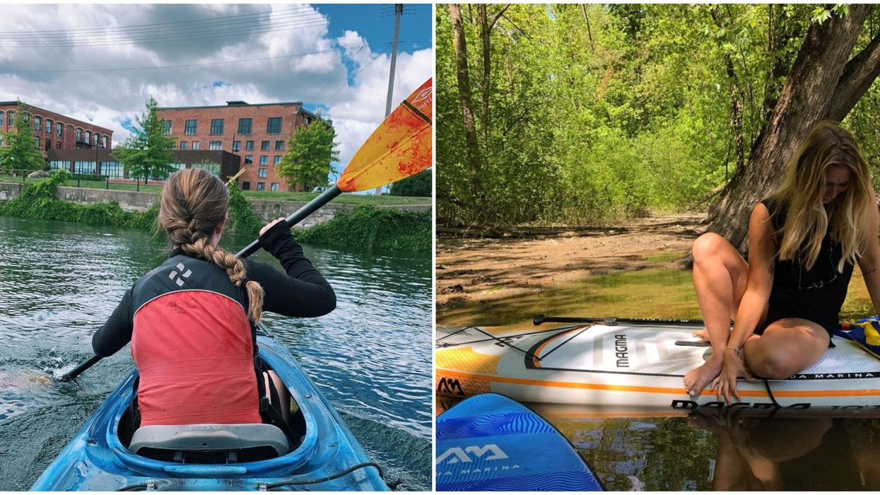 7 Spots To Go Kayaking In And Around Montreal For A Fun & Cheap Spontaneous Summer Date
