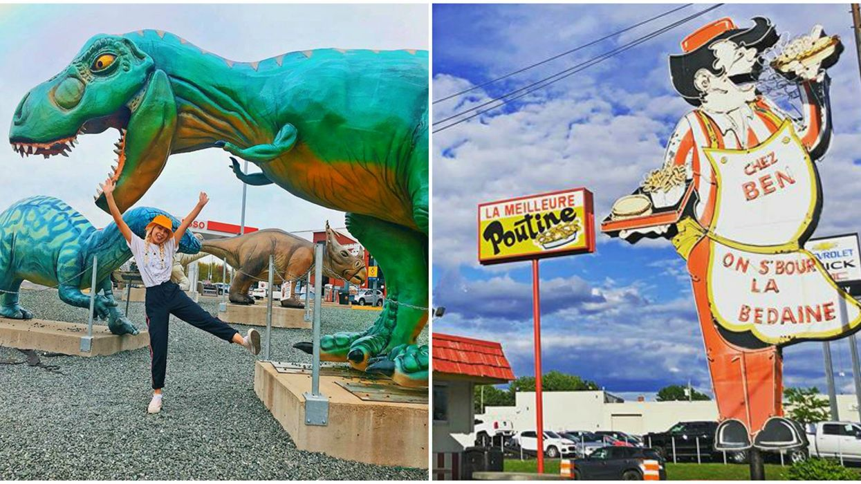 9 Unusual Roadside Wonders In Quebec To Discover On Your Next Road Trip
