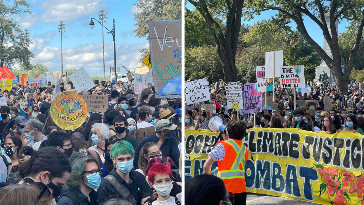 A Global Climate March Is Drawing Thousands Of Montrealers To The Streets RN (PHOTOS)