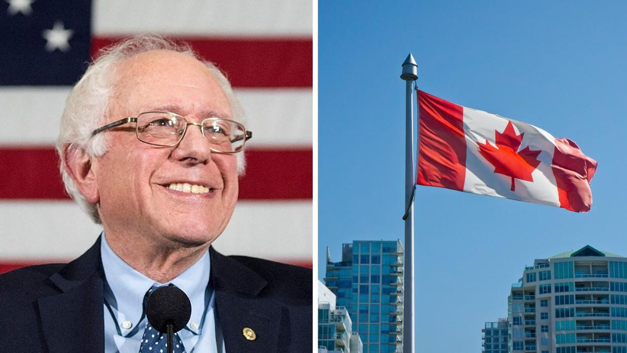 Bernie Sanders Recently Let The World Know Which Canadian Political Party He Supports