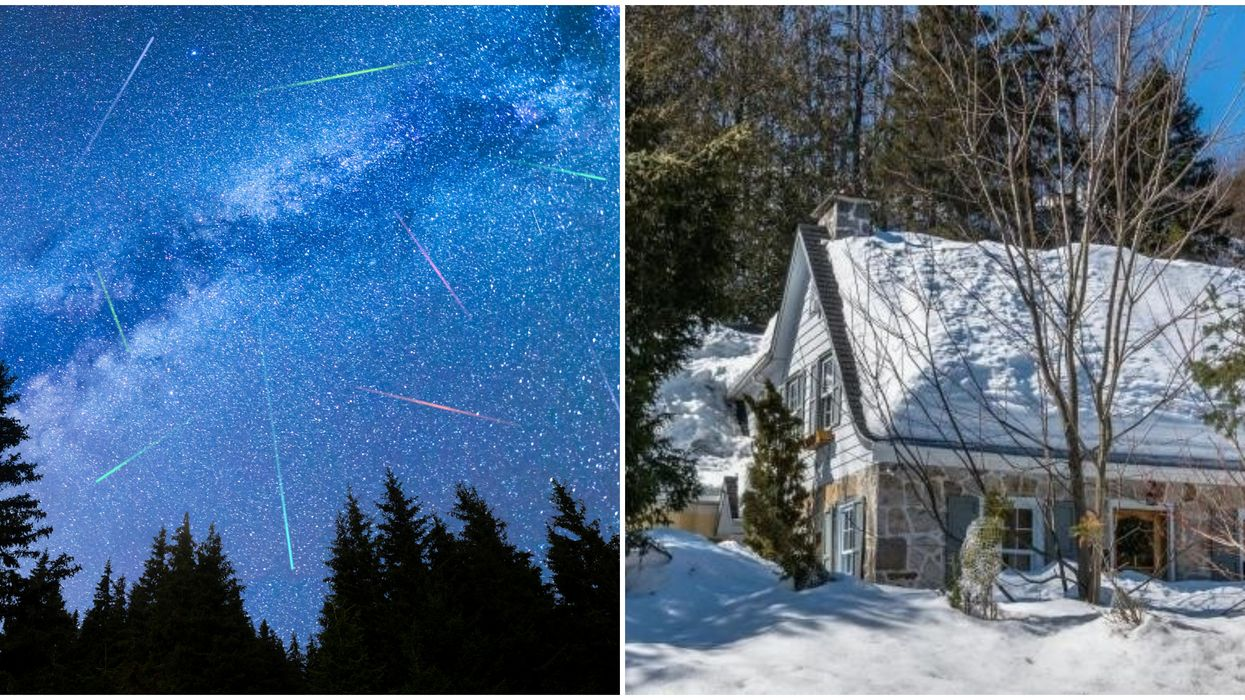 Cheap Airbnbs To Escape Montreal & Start Your 2020 Watching The Quadrantid Meteor Shower