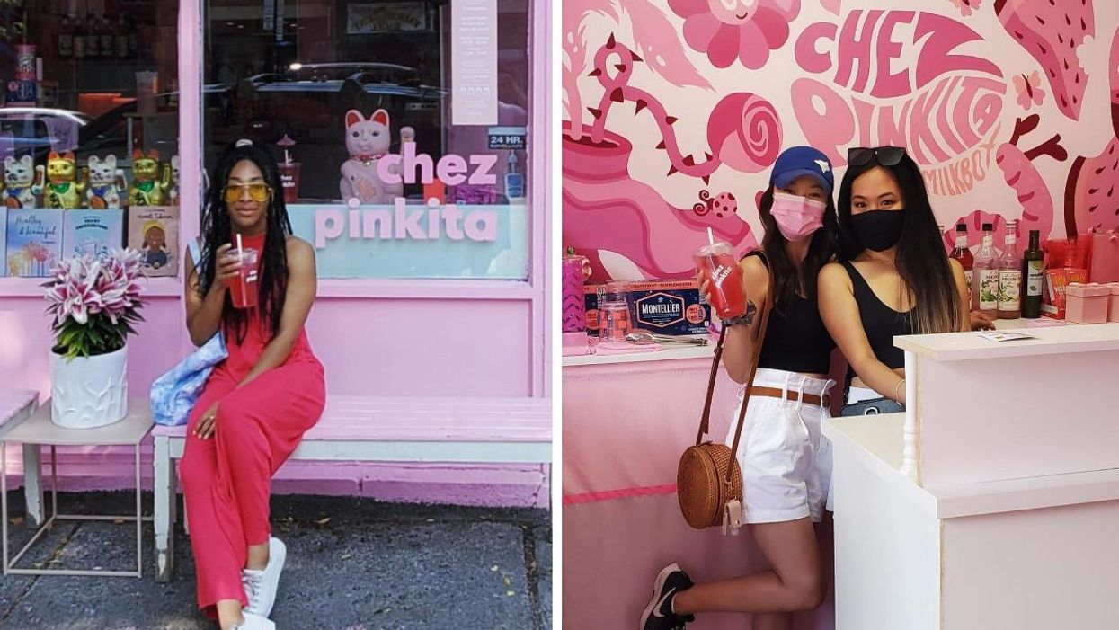 Chez Pinkita Is A Must-Visit For Any Pink Lover In Montreal (VIDEO)