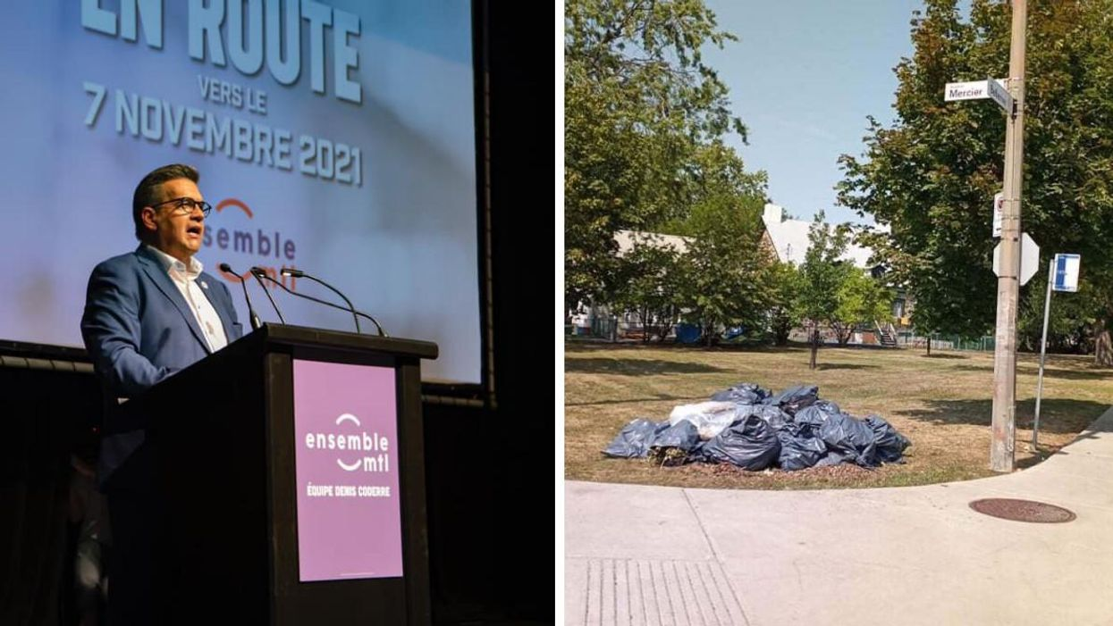 Denis Coderre Announced A Plan To Clean Up Montreal — Literally