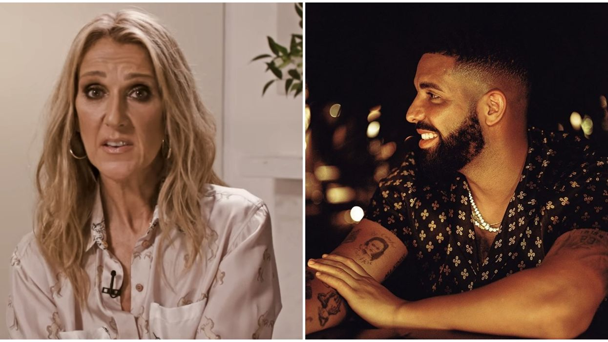 Drake Wants A Tattoo Of Céline Dion's Face On His Body & She's Threatening To Talk To His Mother (Video)