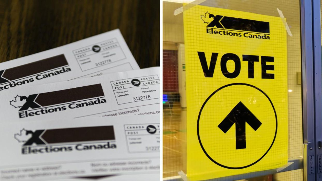 Elections Canada Is Reminding You NOT To Take Pics Inside Your Polling Station