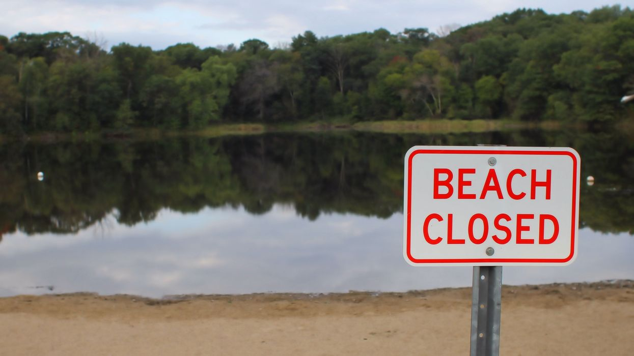 'Hundreds' Of People Gathered At A 'Closed' Beach In Montreal Over The Long Weekend