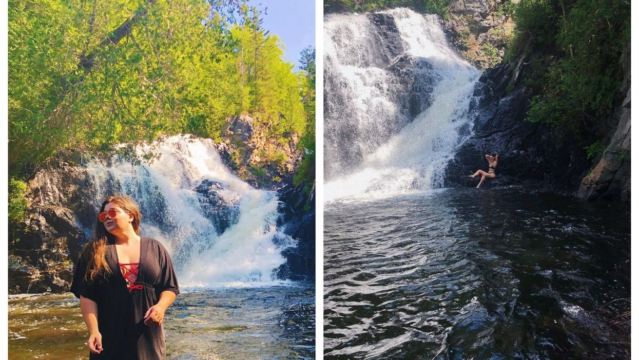 You Can Swim At The Base Of This Enchanting Waterfall Less Than 2 Hours From Montreal