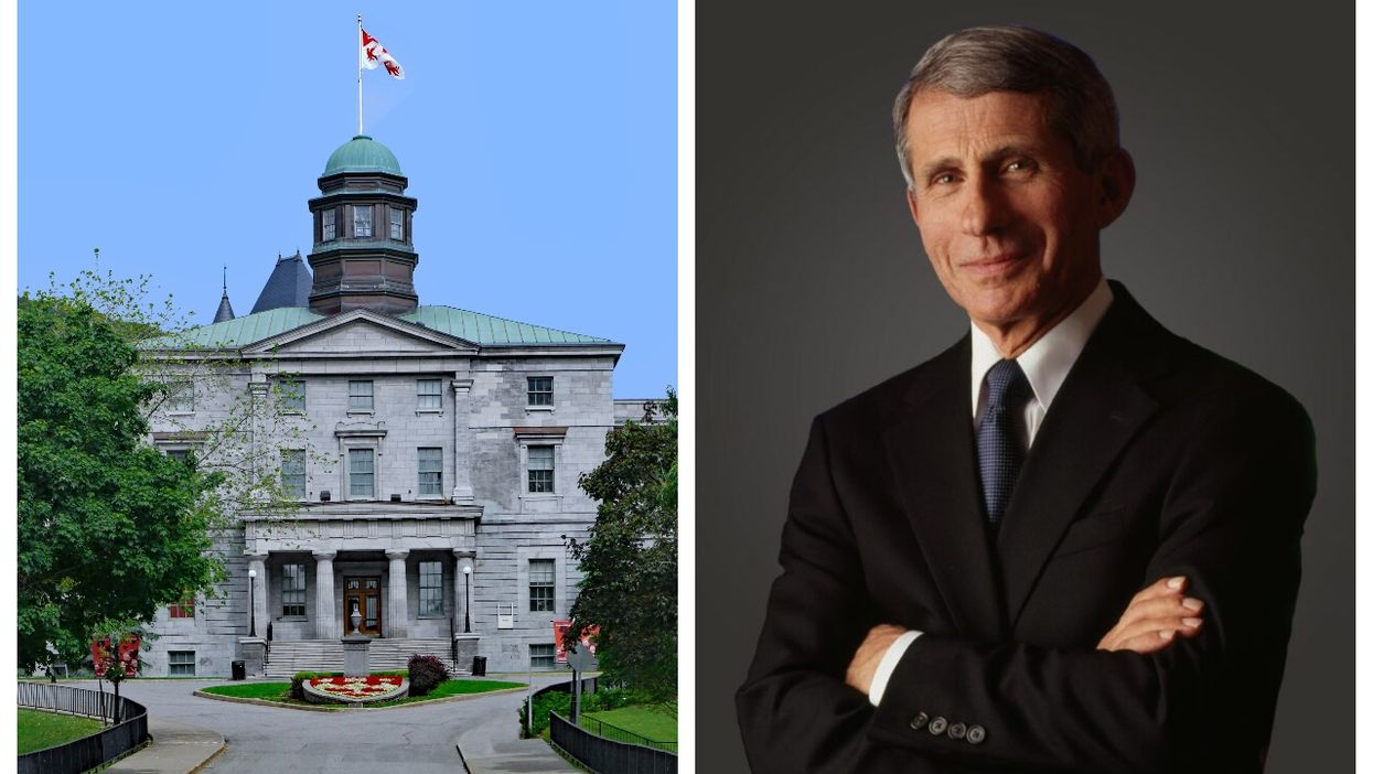 Dr. Anthony Fauci Is Giving A Virtual Lecture At McGill's Homecoming