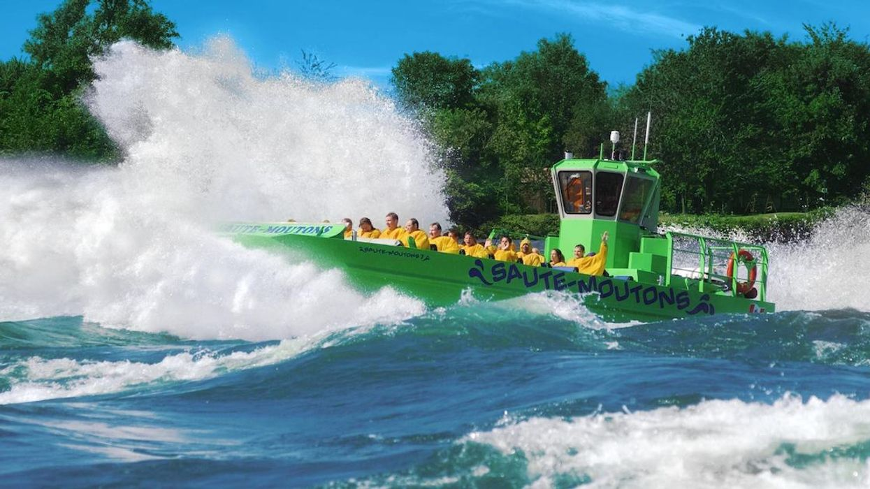 Montreal's Saute-Moutons Jet Boats Are Back This Summer