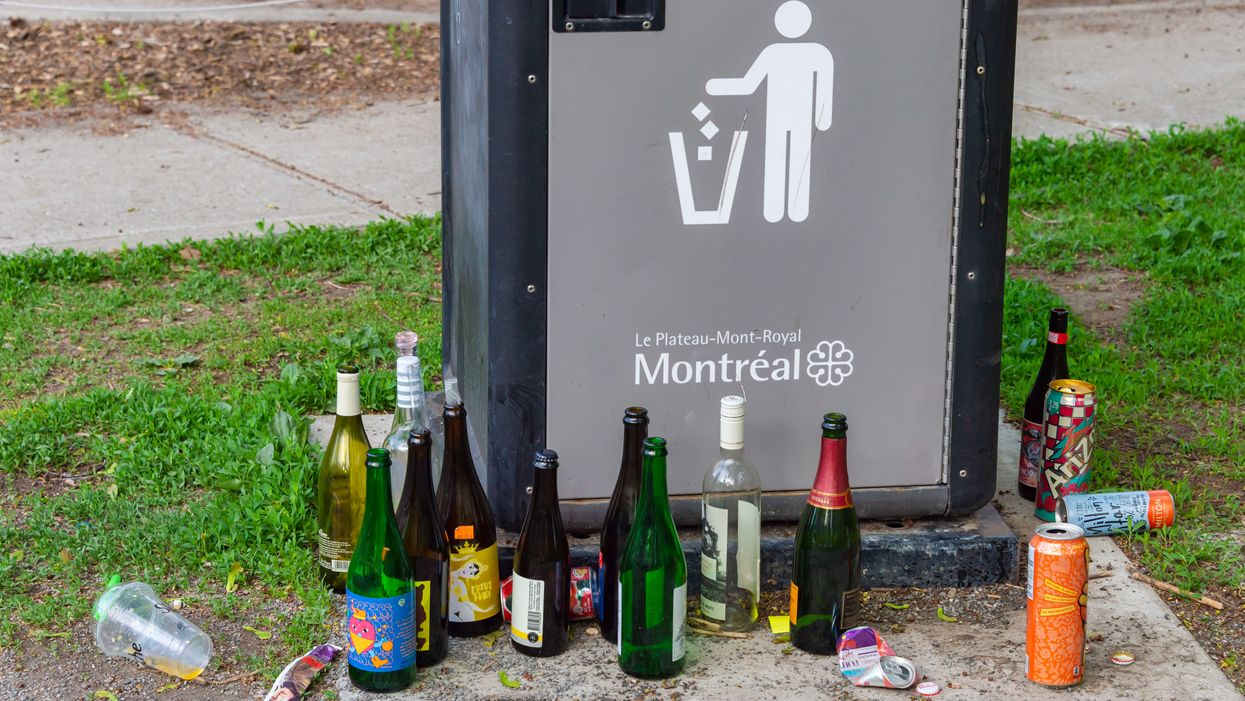 Denis Coderre Wants To Ban Drinking In Parks After 8 PM If He's Elected Mayor Of Montreal