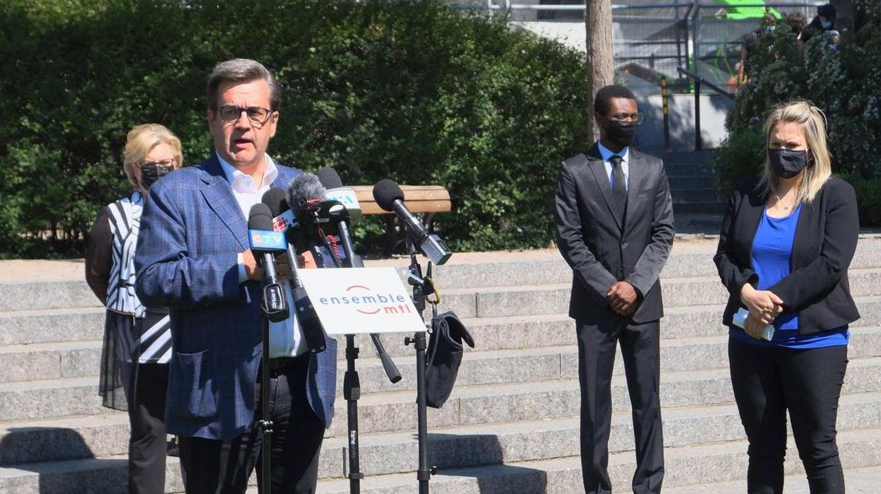 Denis Coderre Flip-Flopped On His Proposal To Ban Drinking In Montreal Parks After 8 PM