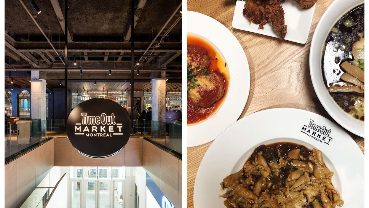 Time Out Market Is Officially Reopening Its 40,000-sq-ft 'Culinary Playground' In Montreal