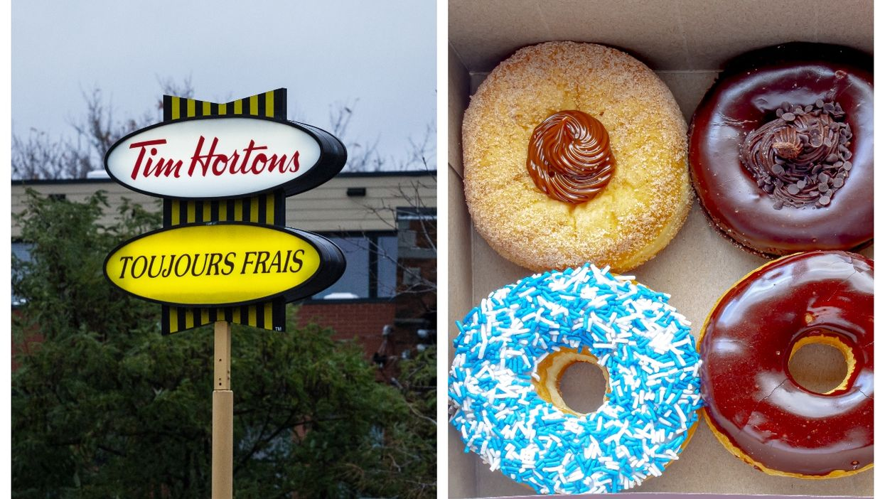 Here's How You Can Get A Free Tim Hortons Donut On National Donut Day