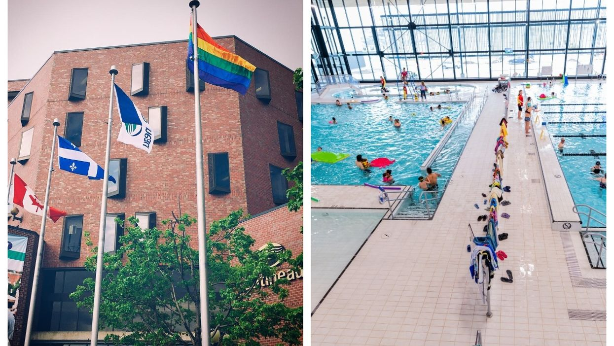 A City In Quebec Plans To Test Gender-Neutral Bathrooms & Changing Rooms At 2 Pools