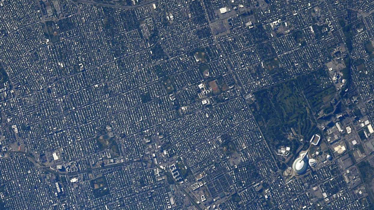 New Photos Of Montreal From Space By NASA Astronaut