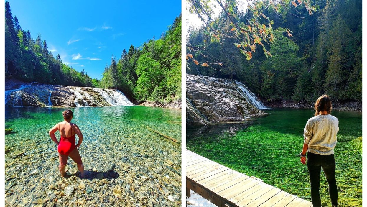 Quebec's 'Emerald River' Is Reopening This Summer (PHOTOS)
