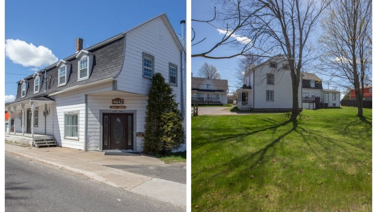 This 19-Room Quebec Home Is For Sale Under $200,000 (PHOTOS)