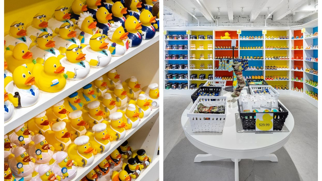 Old Montreal's Le Petit Duck Shoppe Is Pure Joy (PHOTOS)