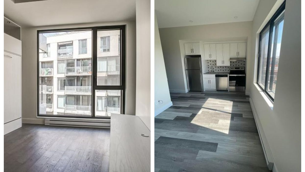 6 Montreal Apartments Under $1,000/Month With Big Windows That'll Drench You In Sunlight