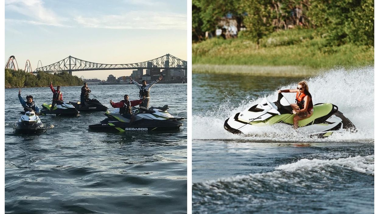 You Can Ride A Jet Ski In Montreal For Less Than $90 & See Some Incredible Views