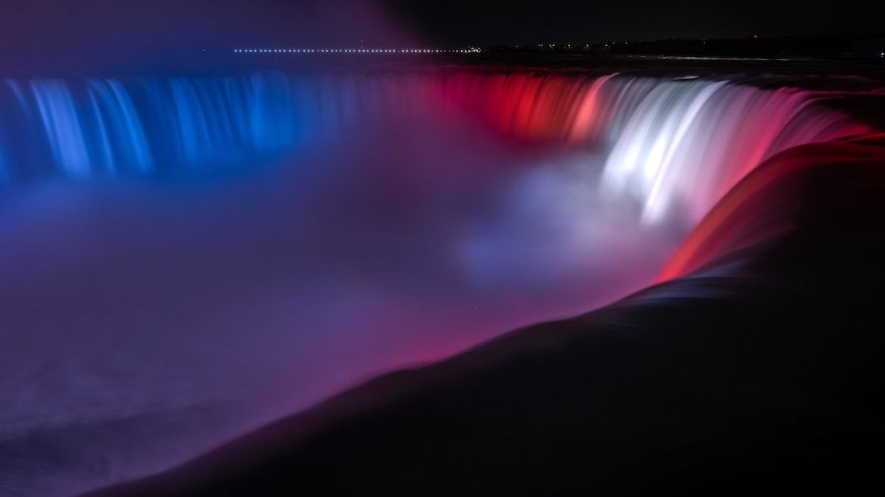 The Montreal Canadiens' Takeover Of Ontario Continued This Weekend With Niagara Falls