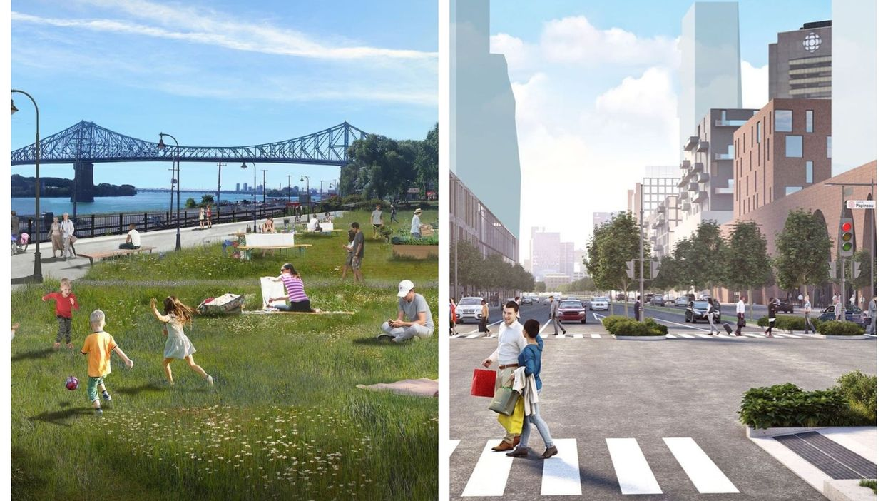 Montreal's Plan For The Centre-Sud Includes A New Riverside Park