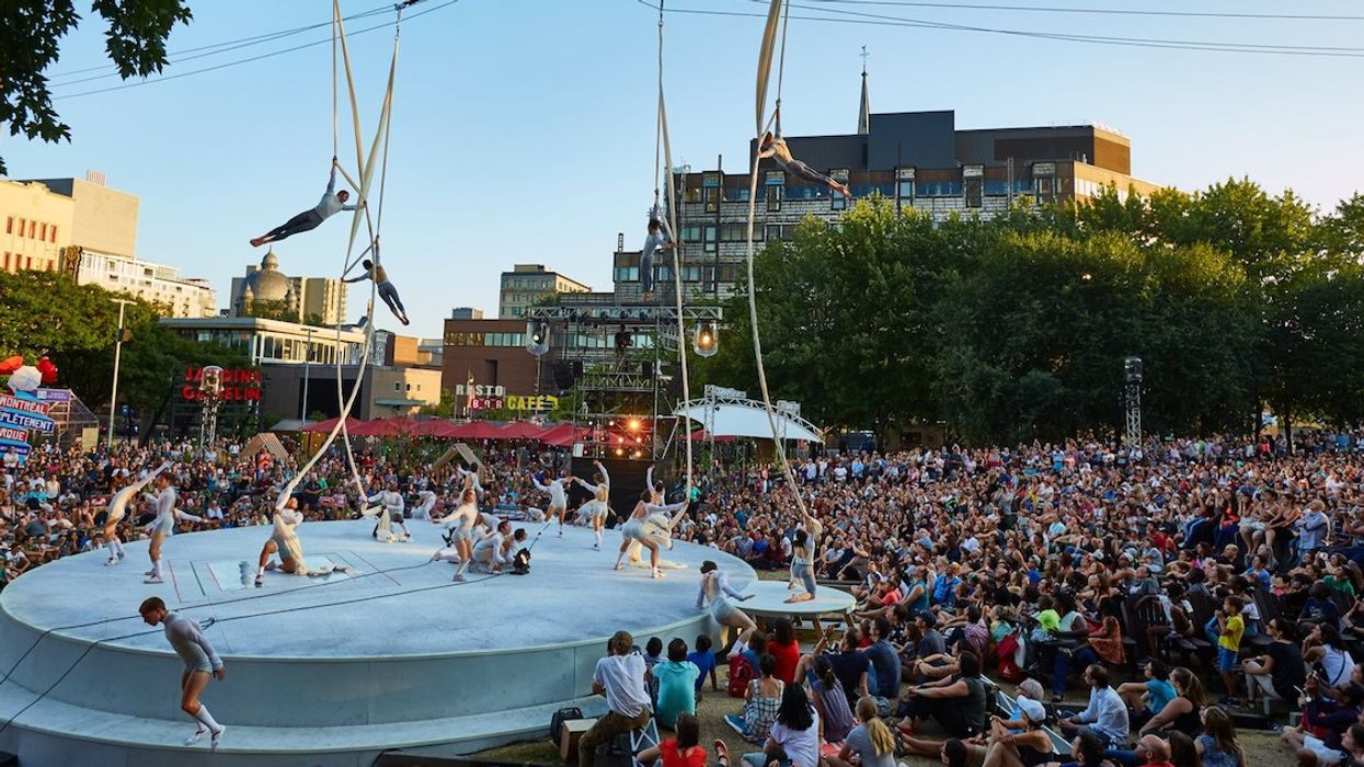 Montréal Complètement Cirque Is Putting On Free Street Shows In July