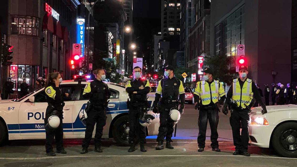 Montreal Police Are Getting Ready For Crowds During The Habs Game On Saint-Jean-Baptiste