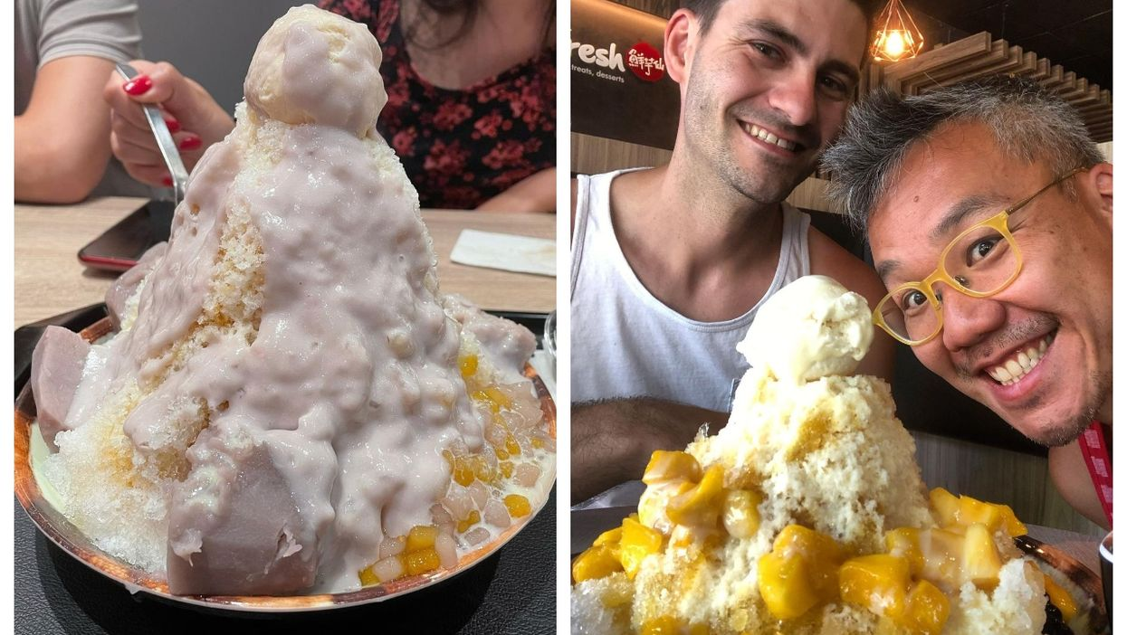 This Taiwanese Dessert Spot In Montreal Serves Shaved Ice As Big As Your Head