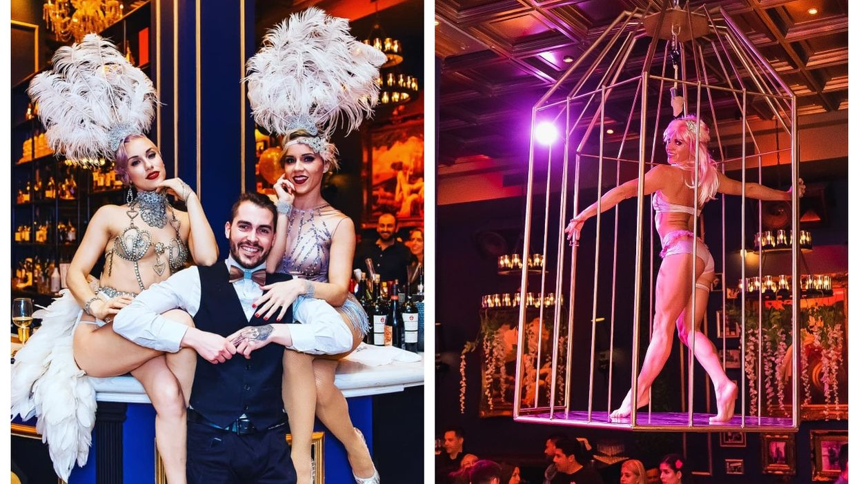 This 1920s-Inspired Spot In Old Montreal Is Like Stepping Into 'The Great Gatsby'