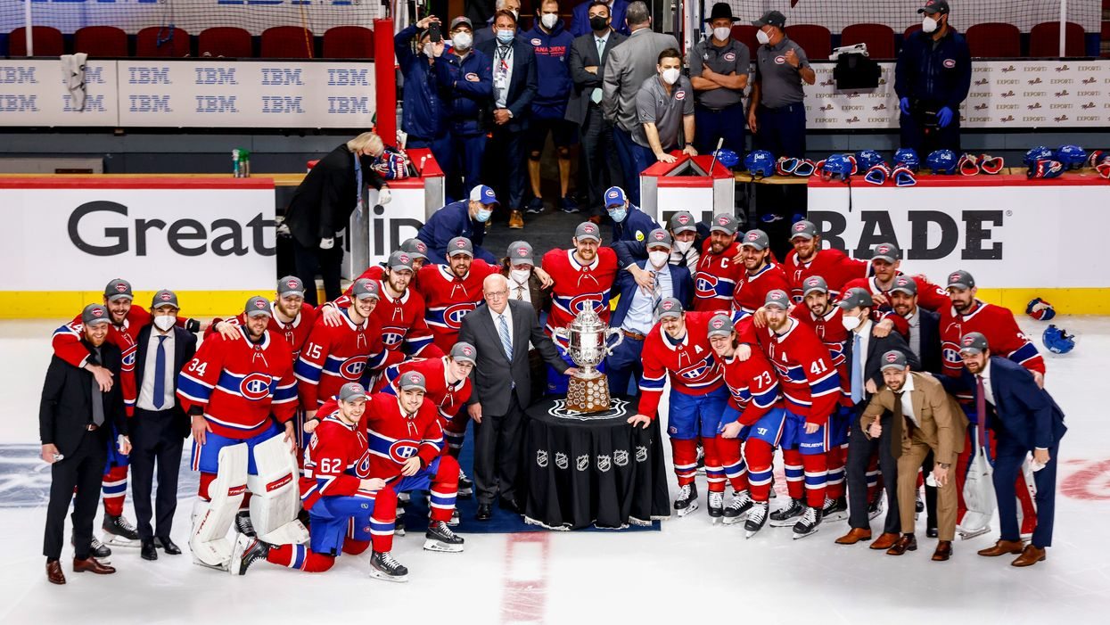 Montreal Canadiens Winning The Campbell Bowl Is Truly Historic