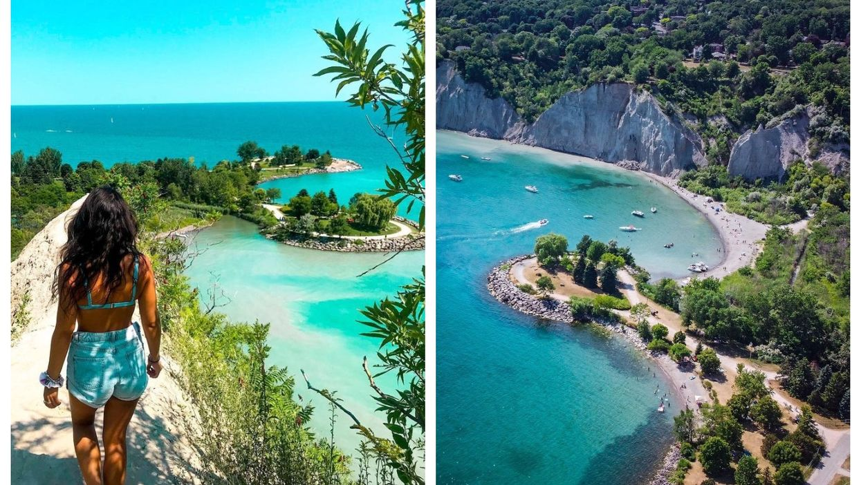 This Park With Azure Water Is Actually In Canada & You Can Road-Trip There From Montreal