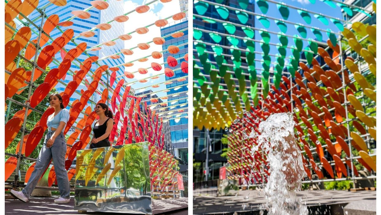 There's A New Colourful Oasis In MTL That Feels Like You're Walking In A Rainbow (PHOTOS)