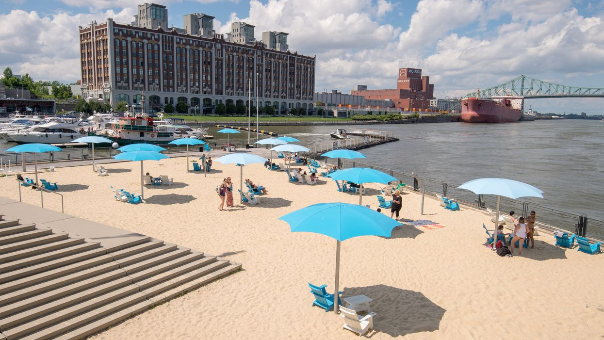 The Old Port's Clock Tower Beach Reopens This Weekend With Free Entry All Summer Long