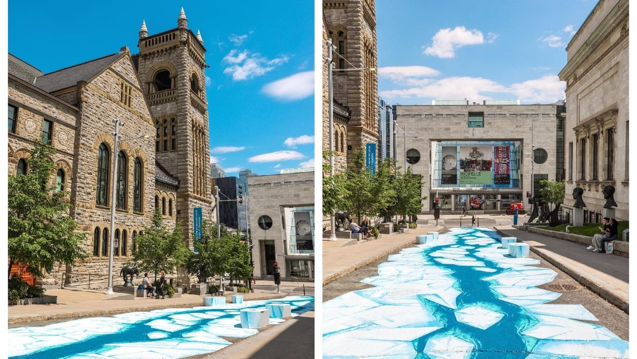 Here's The Meaning Behind The Montreal Museum Of Fine Arts' Newest Street Art (PHOTOS)