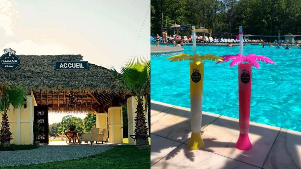 The Havana Resort Is A Cuba-Themed Campground 1.5 Hours From Montreal