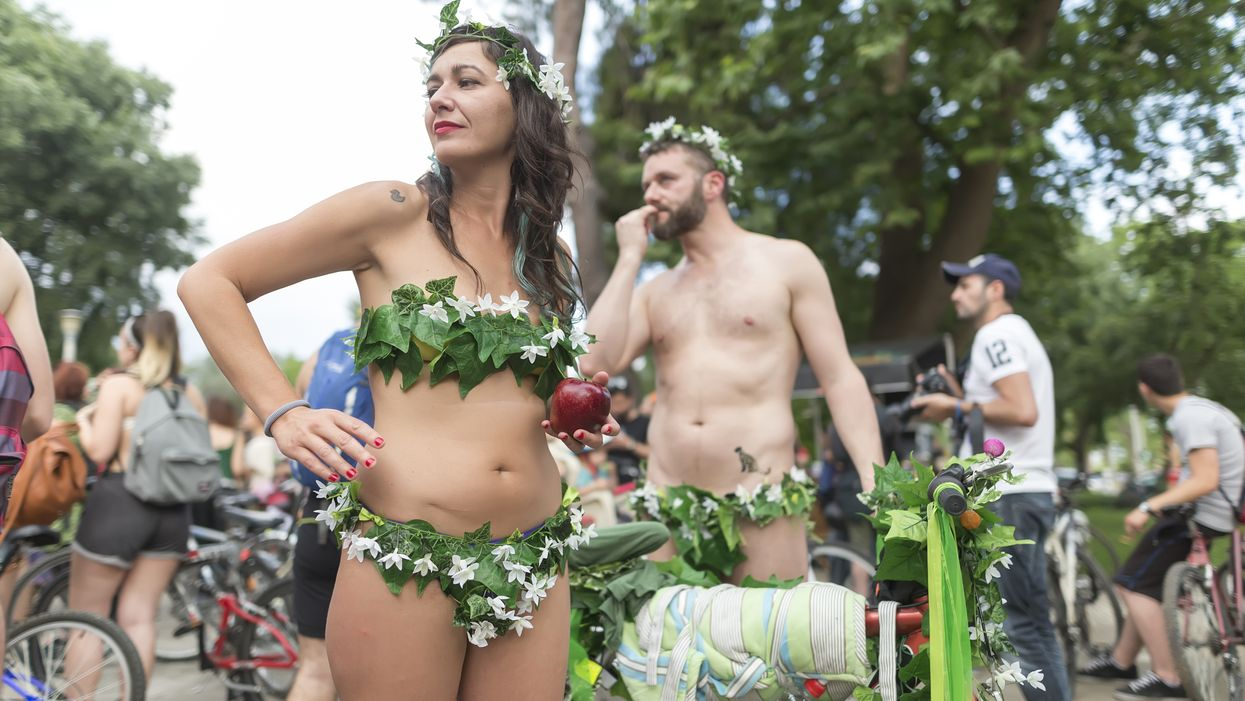 The World Naked Bike Ride Is Coming Back To Montreal This Summer