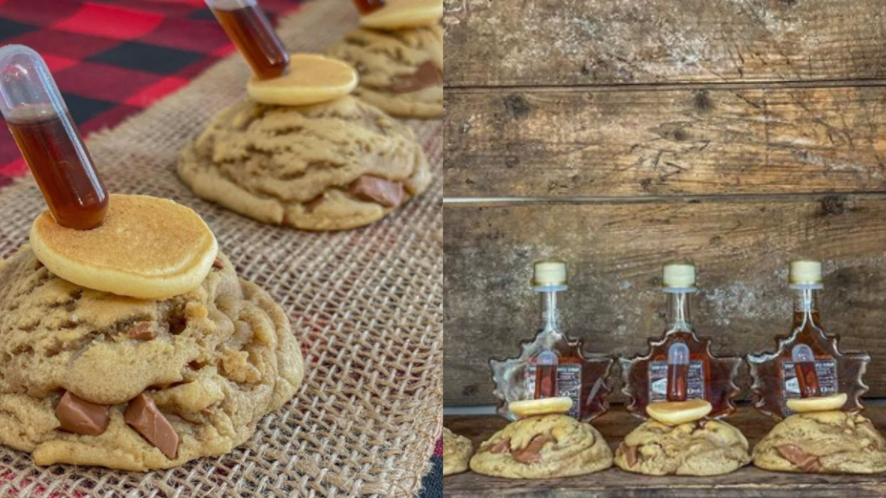 This Company In Lasalle Makes Cookies With Pancakes & A Syringe Of Quebec Maple Syrup