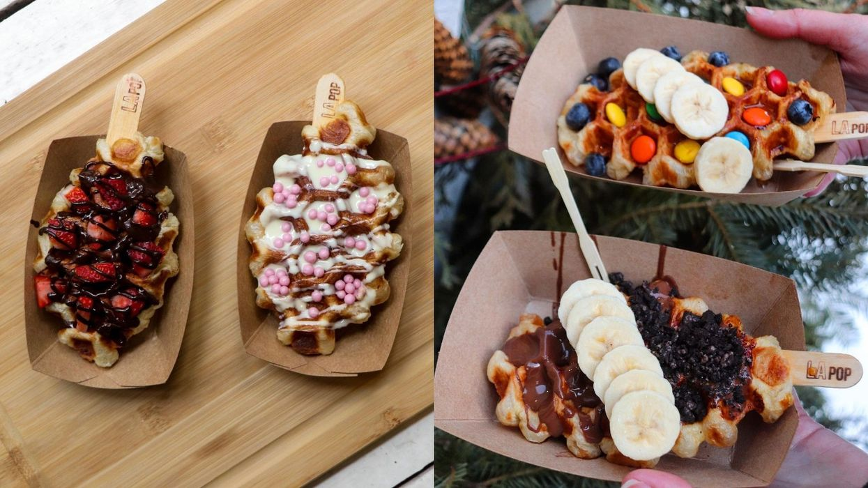 You Can Get A Tasty Croissant Waffle Hybrid At This Spot In The Old Port