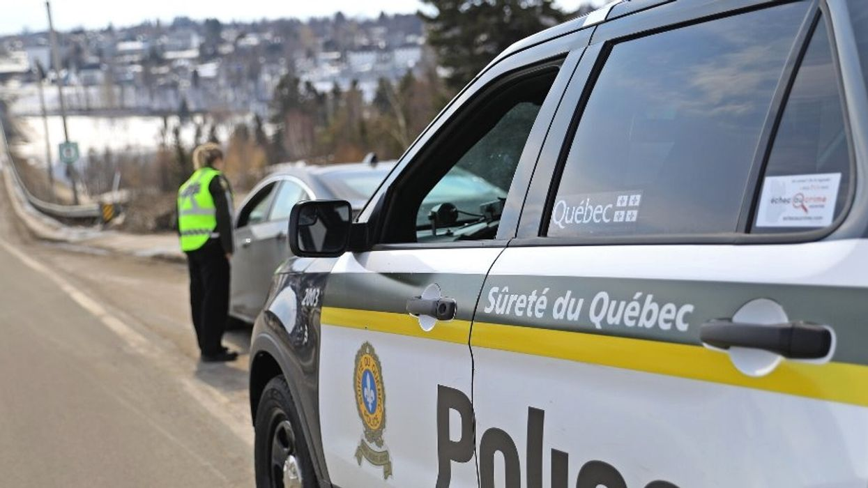 Police Say They Caught A 12-Year-Old Driving A Car Down A Quebec Highway