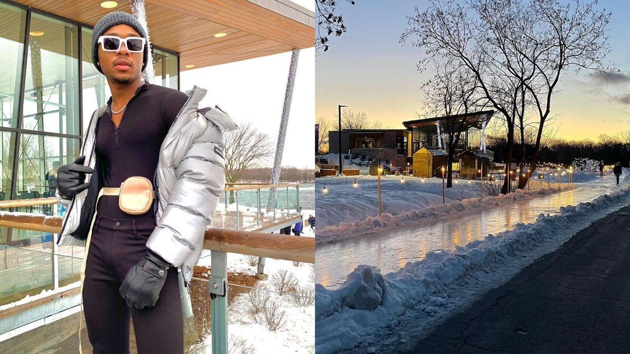 A Winter Lover's Dreamland Just Opened Near Montreal With Free Activities (PHOTOS)