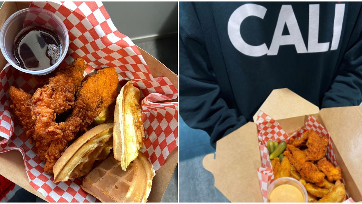 This New California-Inspired Resto Near Montreal Serves Chicken & Waffles All Day Long