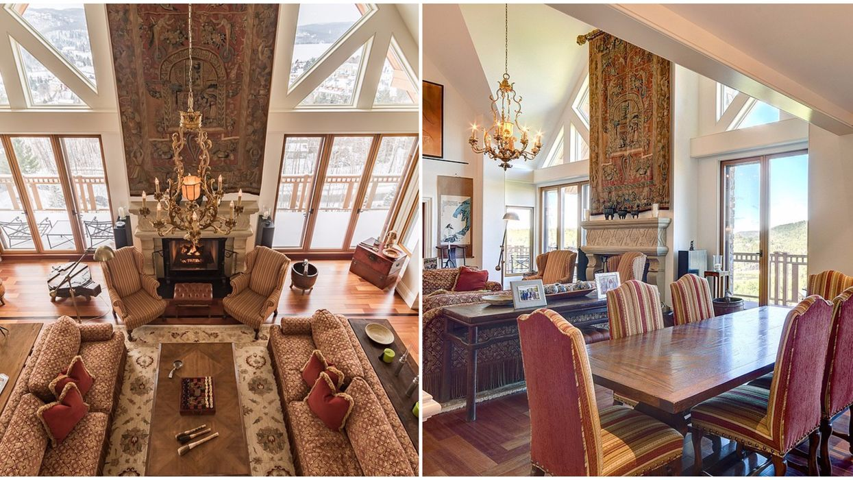 This Home For Sale In Mont-Tremblant Looks Like A Ski Resort In The Swiss Alps (PHOTOS)
