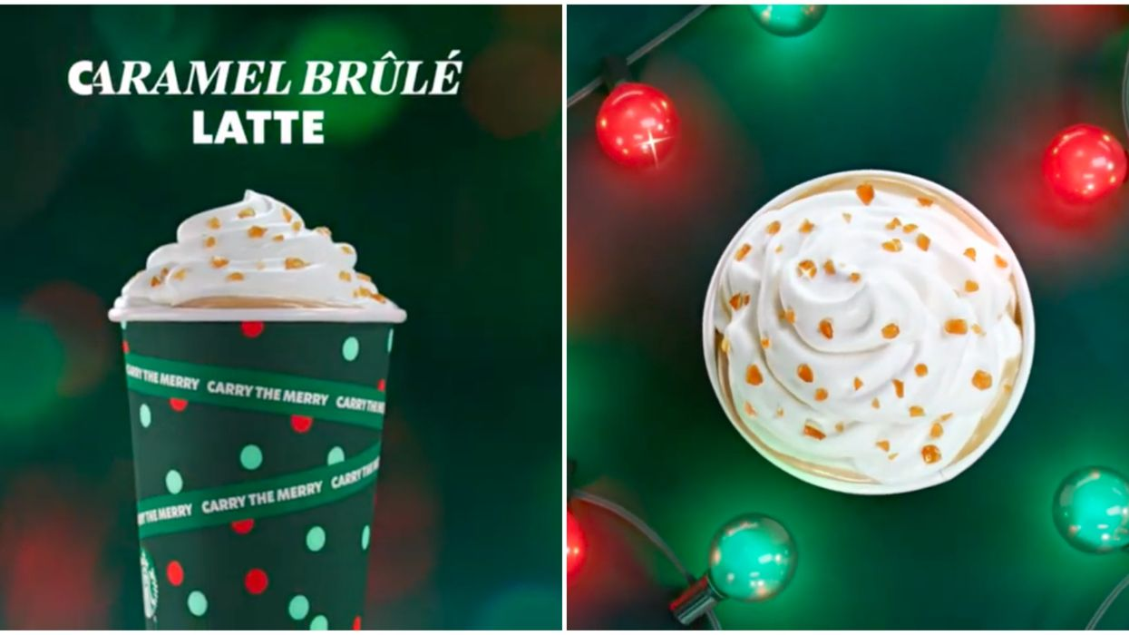 Starbucks' Holiday Drinks Are Back & You Can Get A Free Reusable Cup In Quebec Today