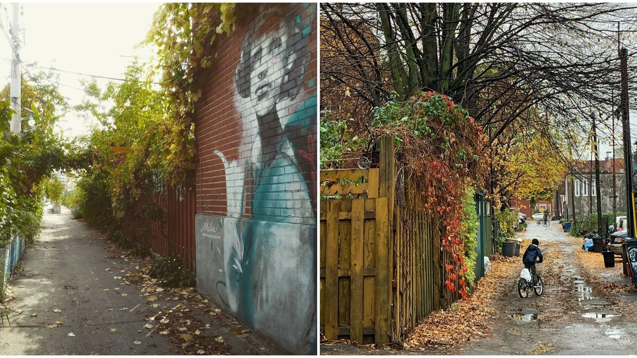 7 Hidden Montreal Alleyways That Are Like Our Own Little Enchanted Forests In The Fall