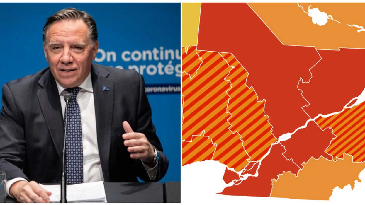 COVID-19: An Entire Region Of Quebec Is Entering The Red Zone This Weekend