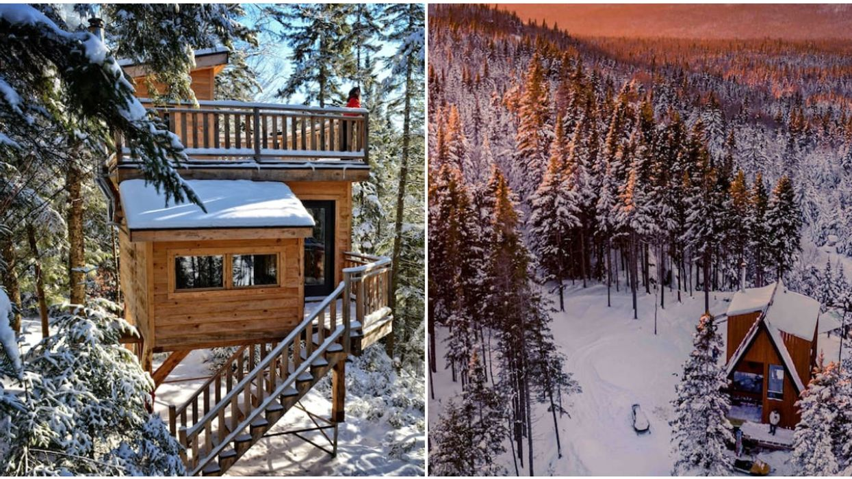 6 Quebec Cabins Near The Ski Slopes That'll Make For Magical Winter Getaways