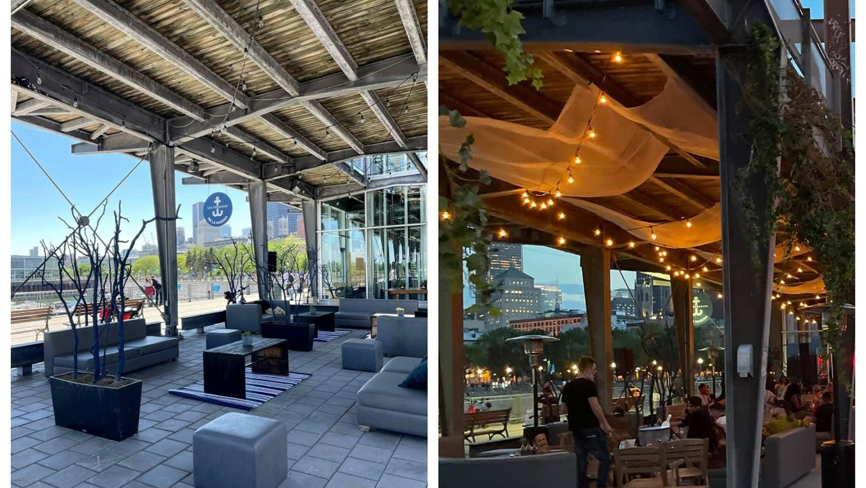 Montreal's Old Port Has A New Terrasse Right By The Water With Panoramic Views