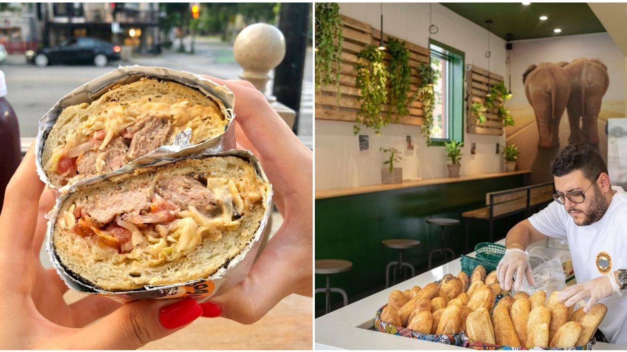 This Montreal Sandwich Shop Gives The Classic French Baguette An African Twist